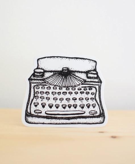 Sticker NW Sticker - Typewriter