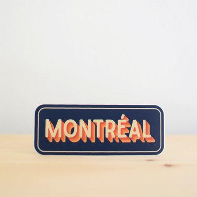 Sticker NW Sticker Montréal (blue)