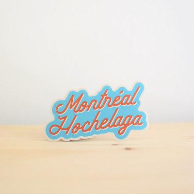 Sticker NW Montréal Hochelaga Collant