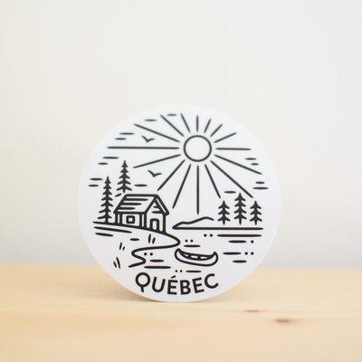 Sticker NW Sticker Québec - Chalet