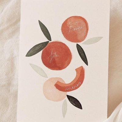 Mimi - Auguste Bonne fête des mères citrus