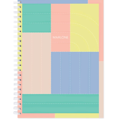 Marlone Notebook - Patchwork