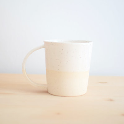 Maison Stoï Natural clay cup - Ivory