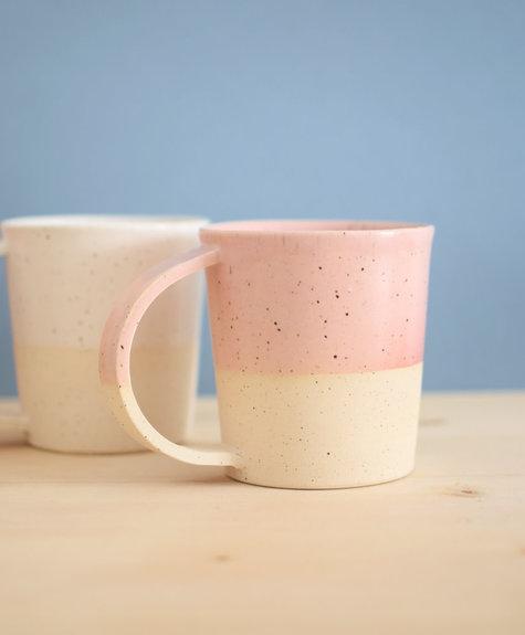 Maison Stoï Natural clay cup - Peach