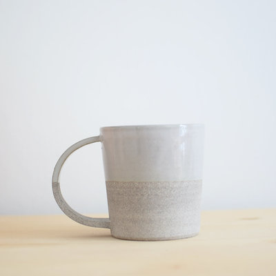 Maison Stoï Natural clay cup - Grey