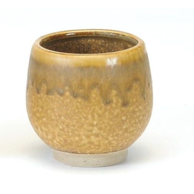 Bacon Basket Limited Round planter Yellow