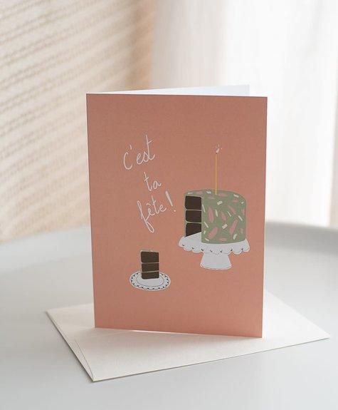Citron Miel Card - C'est ta fête