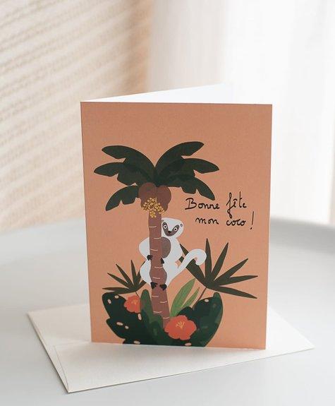 Citron Miel Card - Sifaka