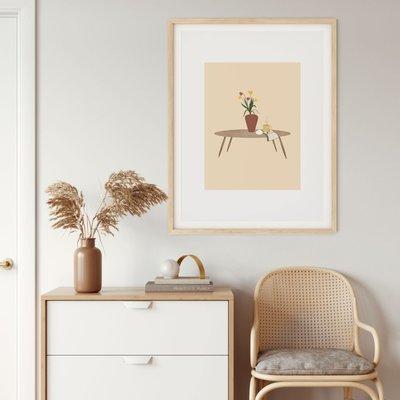 Citron Miel Poster - art of living (31x41)