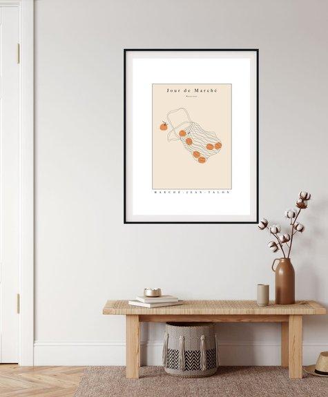 Citron Miel Poster - Market Day12*16 (31x41 cm)