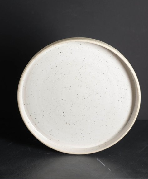 Maison Stoï Natural earthen plate - 9 inches
