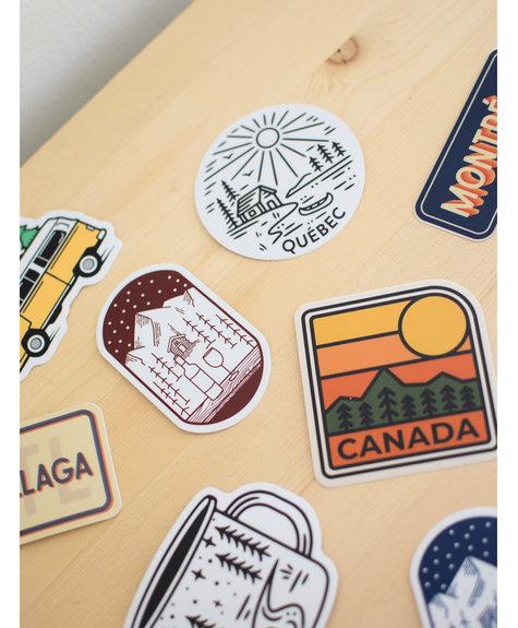 Sticker NW Sticker Sur la route