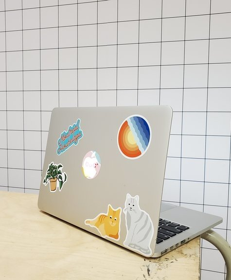 Sticker NW Sticker Machine à écrire