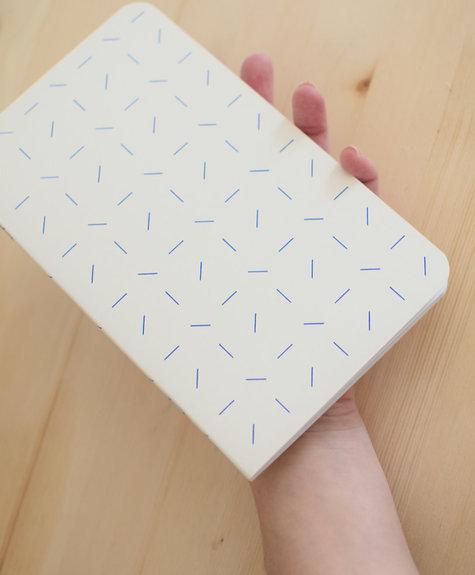 Atelier Archipel Carnet Confettis - blanc
