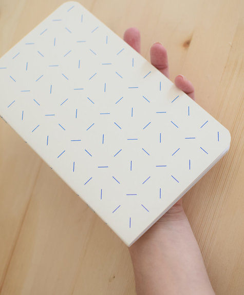 Atelier Archipel Confetti notebook - blank pages