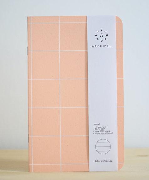 Atelier Archipel Carnet Carreaux - ligné