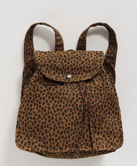 Baggu Sac à dos Baggu - Leopard Muscade