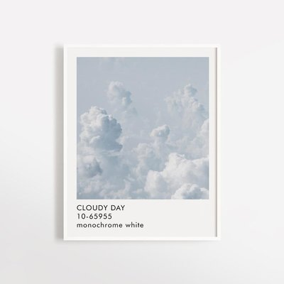 Opale Poster - Cloudy Day