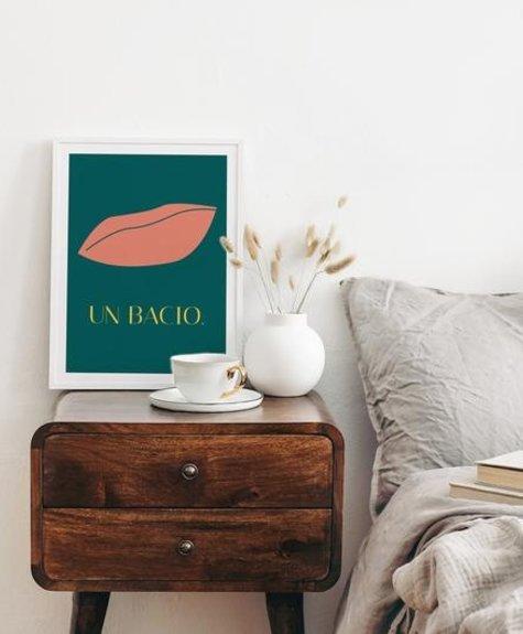 Opale Poster 8x10 Opale - Un Bacio