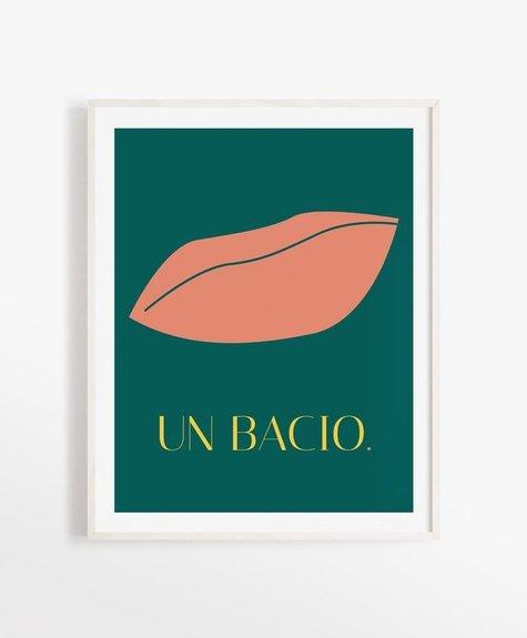 Opale Affiche 8x10 Opale - Un Bacio