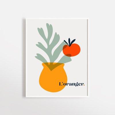 Opale Affiche - L'oranger