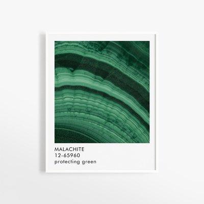 Opale Affiche - Malachite