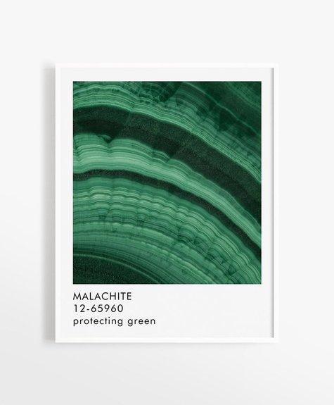 Opale Affiche 8x10 Opale - Malachite