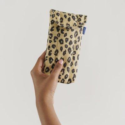 Baggu Glasses Sleeve -  Honey Leopard