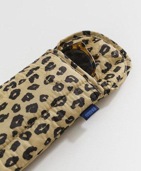 Baggu Étui à Lunettes -  Honey Leopard