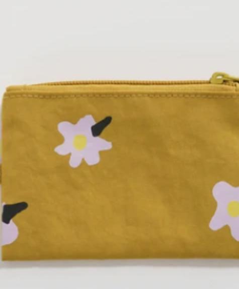 Baggu Flat pouch - Daisies