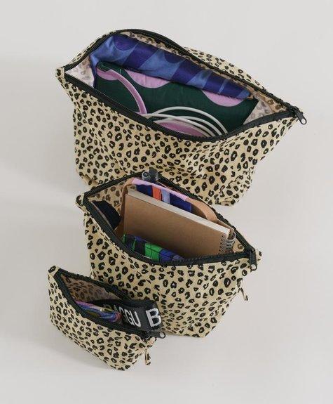 Baggu Pochette Go - Honey leopard