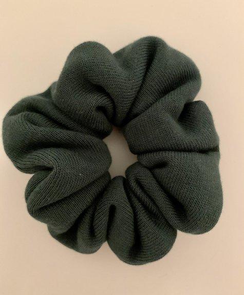 Minky Mousse Organic fleece scrunchie