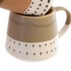 Indaba Doodle mug Mousse