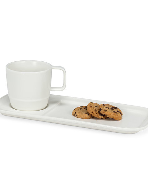 Abbott Duo café gourmand - Blanc