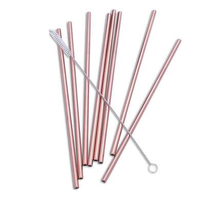 Abbott Paille métal droite (1) - rose