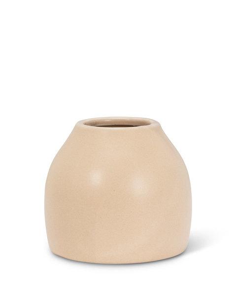 "Abbott Matte vase - Sand 3"""
