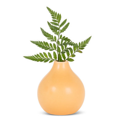 Abbott Matte vase - Ochre
