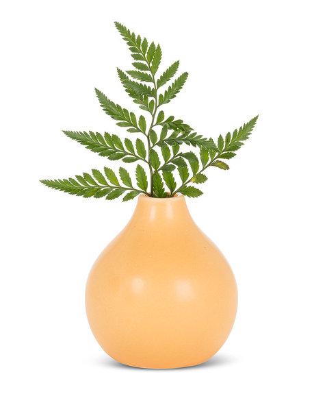 """Abbott Matte vase - Ochre  4"""""""