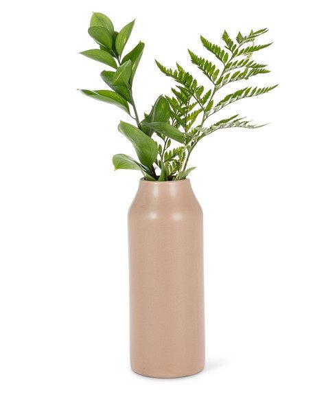 "Abbott Matte vase - Taupe 9"""