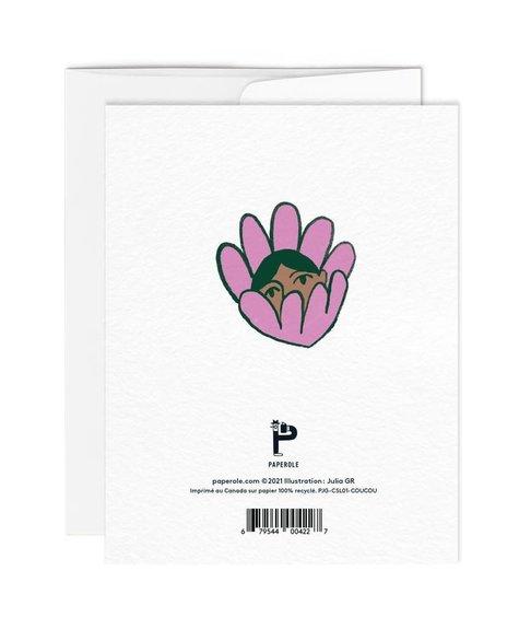 Paperole Carte de souhaits - Coucou