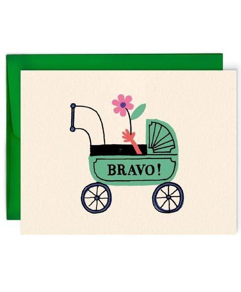 Paperole Greeting card - Bravo