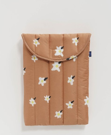 Baggu Laptop Sleeve - Painted Daisy