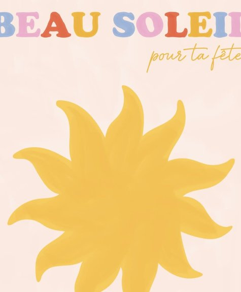 Marlone Greeting Card - Beau soleil
