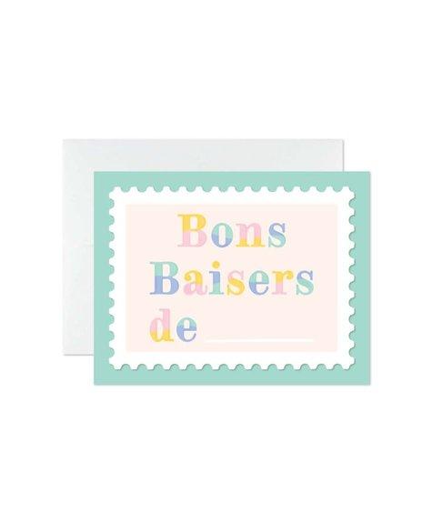 Marlone Carte de souhaits - Bon baisers