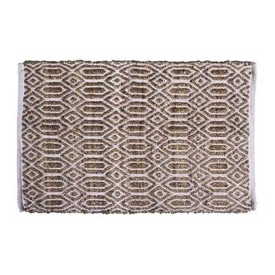 Gajmoti Rectangular rug - Jute and cotton