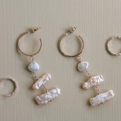 Côte Ouest Biwa earrings