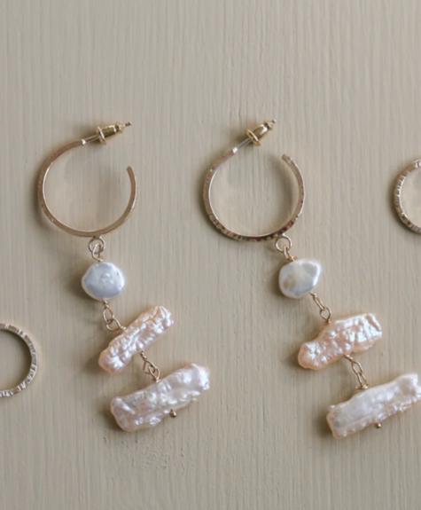 Côte Ouest Biwa earrings - Côte Ouest