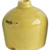 Creative Co-op Vase vintage - Jaune