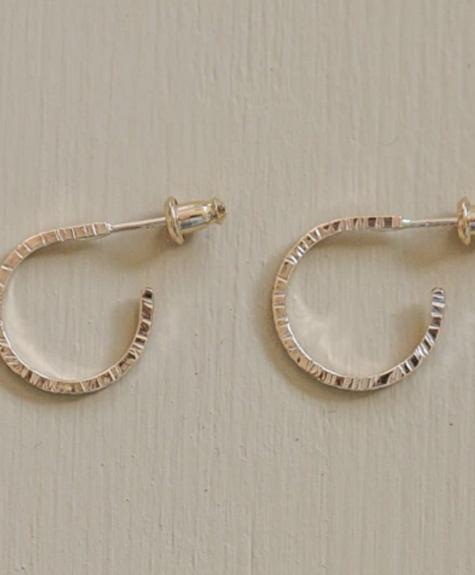 Côte Ouest Gold Split hoops earrings - Côte Ouest
