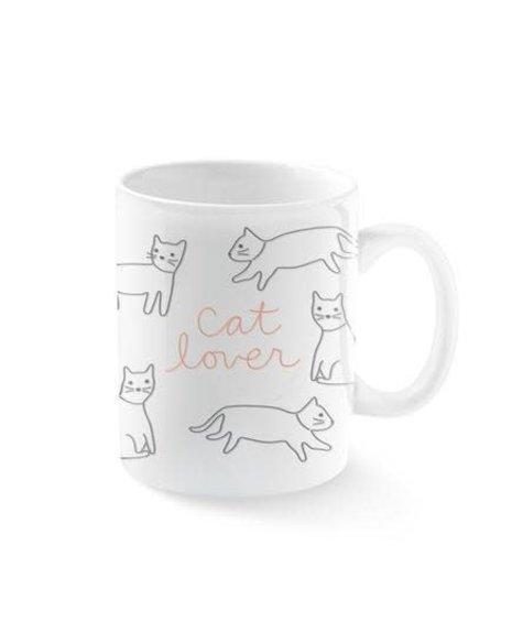 Fringe Mug Jumbo cat Lover